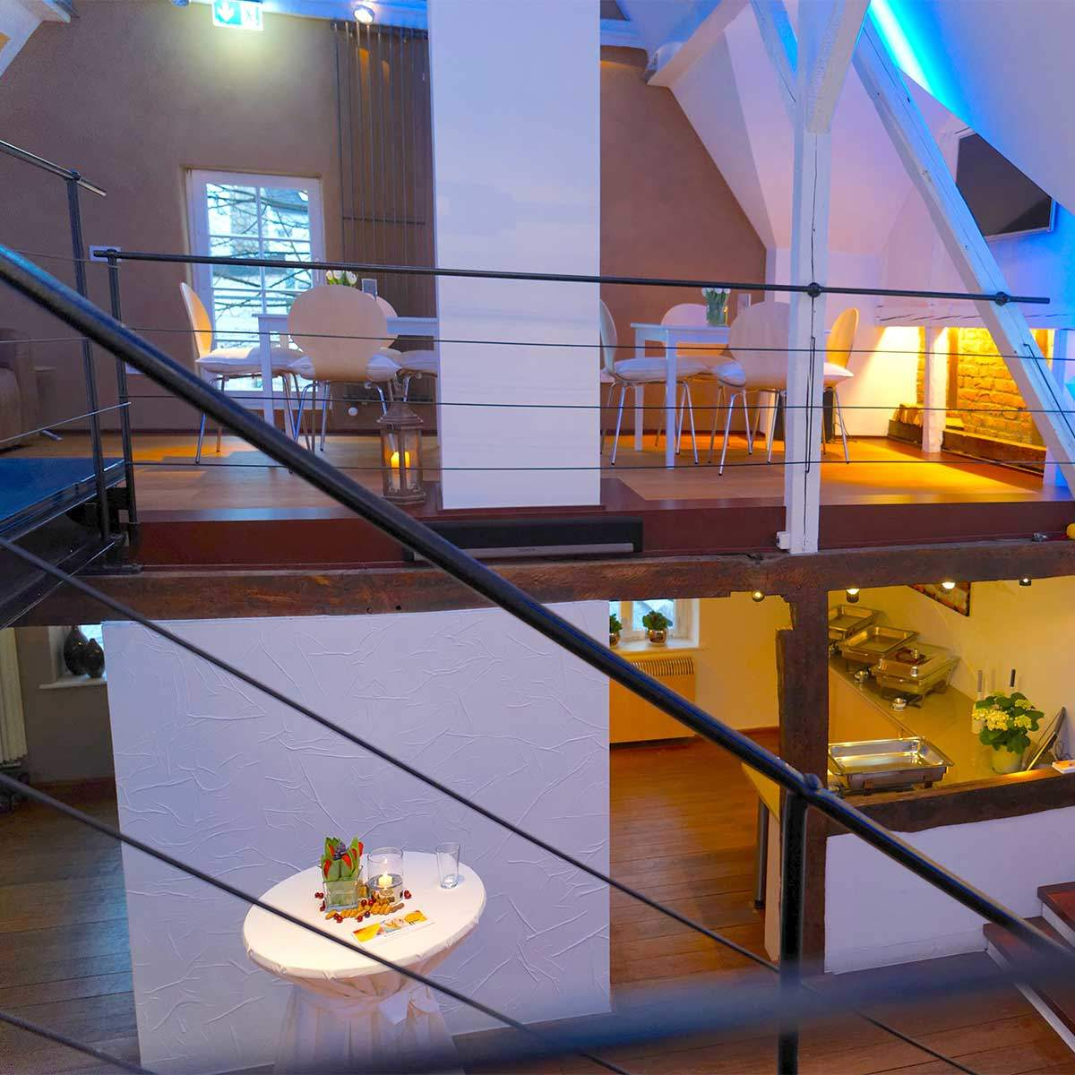 Die zwei Ebenen des Erlebnisraums, Raum für Kunst und Kultur